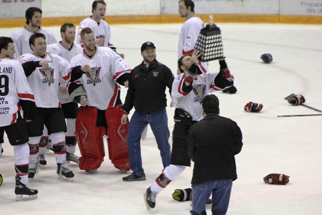 Clarenville Caribous 2011-2012 Herder Champions