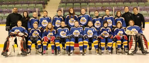 2013 – 2014 Eastern Female PeeWee AAA Ice Breakers   Newfoundland Hockey Talk