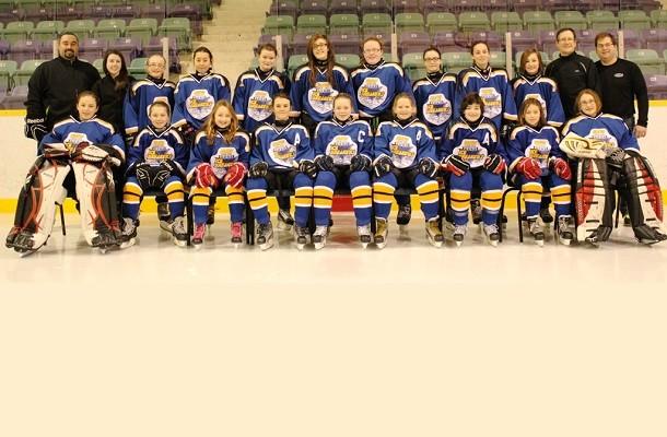 Female PeeWee Provincial Champions   Newfoundland Hockey Talk