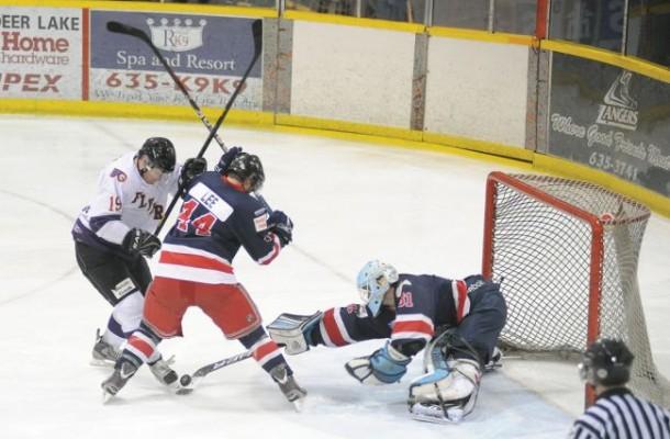 Gander Flyers vs Western Royals   Newfoundland Hockey Talk