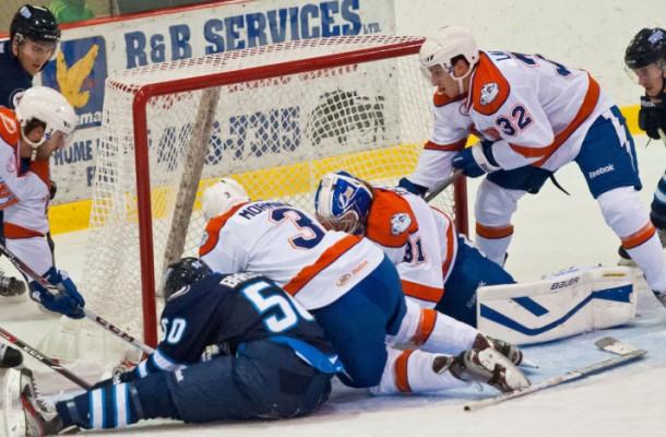 St. John's IceCaps vs Falcons | Newfoundland Hockey Talk