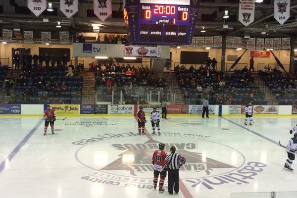 Clarenville Caribous | Grand Falls-Windsor Cataracts