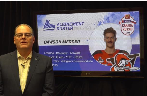 Dustin Mercer QMJHL
