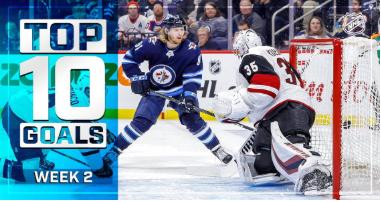 NHL Top 10 Goals