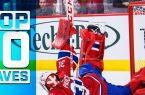 Top 10 NHL Saves
