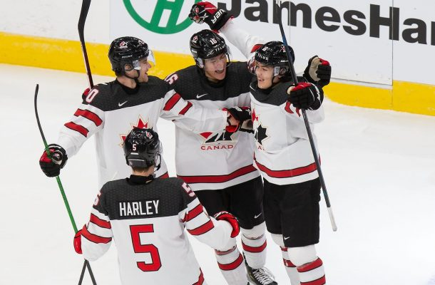 Canada Hangs on vs Team Slovakia